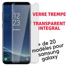 Verre Trempé Intégral Protection pour Samsung Galaxy A6 A7 A8 A9 J6 S8 S9 NOTE 9