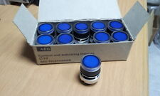 AEG PUSH BUTTON BLUE BOX OF (10)pcs  LT blau  910-157-273