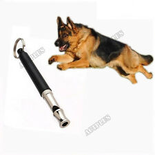 Pet Dog Puppy Training Obedience Whistle Adjustable Ultrasonic Sound Tools New