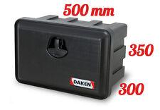 DAKEN Just 500 R Werkzeugkasten 30L Staubox LKW Pritsche Anhänge Staukasten