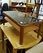 Glass Vintage/Retro Coffee Tables without Assembly Required