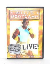 DVD VIDEO Exercise Routine BILLY'S BOOT CAMP CARDIO BOOTCAMP LIVE