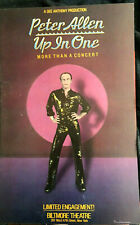 Peter Allen Up In One 1979 Broadway windowcard