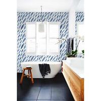 Atrament Pattern removable Wallpaper white Wall Mural Self Adhesive Peel & Stick