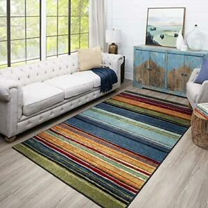 "Mohawk Home Rainbow Area Rug, 1'8"" x 2'10"", Multicolor"