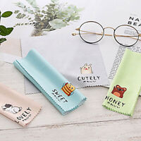 4 pcs Cleaner Clean Glasses Lens Cloth Wipe Sunglasses Cleaning Cloth Microfiber