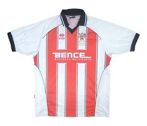 Cheltenham Town 2004-06 Original Home Shirt (Very Good) XL Soccer Jersey