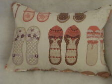 "HARLEQUIN FABRIC TWINKLE TOES OBLONG CUSHION 20"" X 14 ""(51 CM X 36 CM)"