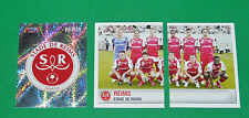 PANINI FOOTBALL FOOT 2007 STADE REIMS AUGUSTE-DELAUNE COMPLET FRANCE 2006-2007