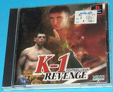 K-1 Revenge - Fighting Illusion - Sony Playstation - PS1 PSX - JAP