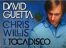 DAVID GUETTA Vs TOCADISCO TOMORROW CAN WAIT CD PROMO