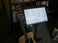 GUITAR SCALE POSTER, 11 by 17 laminated, most Useful SCALES, Arpeggios, $9.95
