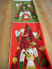 Christmas Angels Fabric Tammis Keefe Tribute Repro Cotton Linen Michael Miller