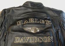 HARLEY DAVIDSON 110TH ANNIVERSARY DISTRESSED 97146-13VM LEATHER JACKET XXXL 3XL