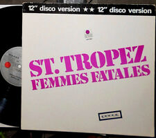 "ST. TROPEZ FEMMES FATALES / I WANT TO DO SOMETHING FREAKY TO YOU 12 "" MAXI"