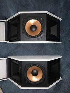 Klipsch, RS 3 WH, Surround Sound Speaker,Two-way system (pair)