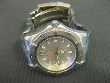 TAG Heuer Professional Men's Classic Date Watch Silver Face WK1112 Stainless