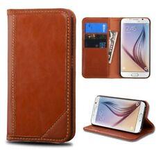 Étuis, housses et coques etuis portefeuilles marron Samsung Galaxy S6 pour téléphone mobile et assistant personnel (PDA)