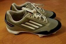 Adidas Men's Adizero Tour Golf Shoes ~ Gray/White/Black sz 8