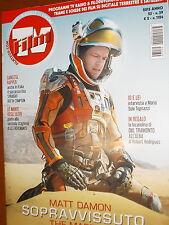 Film Tv.Sopravvissuto-The Martan,Matt Damon & Ridley Scott,ppp