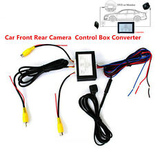 Car SUV Front Rear Parking Camera Video Switch 2 Channel Control Box Converter