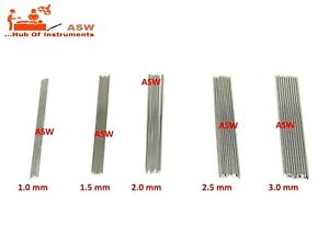 Orthopedic K Wire All MM Double Ended K Wire MM Stainless Steel K Wire 6 inch
