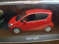 Opel Agila Mk2 2008 Rosso - Scala 1:43 Die Cast - Opel  - Nuova
