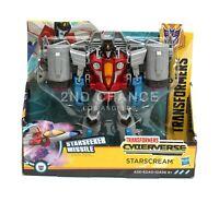 New Transformers Cyberverse Decepticon Starscream Action Figure Hasbro