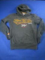 vtg 00s superdry small hoody hooded sweater sweatshirt Jumper Ref008