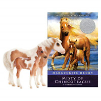 Breyer Traditional Series Misty & Stormy Model & Book Set | 2 Horse and Book Set