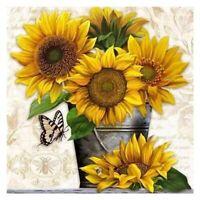 Sunflower 5D Full Drill Diamond Painting Embroidery Cross Stitch DIY Crafts Kit