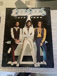 BEE GEES 1979 Tour Concert Program Souvenir Book