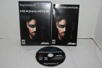 Headhunter (Sony PlayStation 2, 2002) PS2 Complete CIB Black Label
