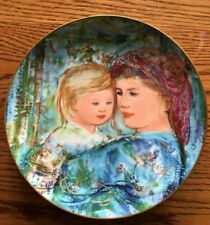 Edna Hibel Mother's Day Plate for 1991