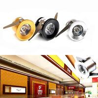1W Mini LED lights led cabinet light, mini led downlight 85-265v ceiling lamp TS
