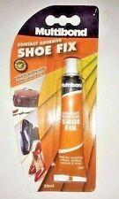 Shoe fix repair glue Multibond Contact Adhesive bonding Rubber, Leather, Canvas
