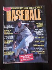 "Sports Quarterly Presents BASEBALL Magazine Spring 1977 Mark ""The Bird"" Fidrych"
