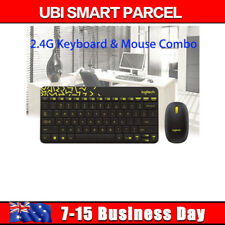 Wireless Keyboard and Mouse Logitech MK240 Combo for Laptop Desktop USB HOT