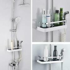 Bathroom Shelf Shower Pole Storage Caddy Rack Organiser Tray Holder Accessories