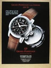 1999 Girard-Perregaux Ferrari 250 TR Chronograph vintage print Ad