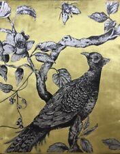 Zoffany Cushion Fabric 'Darnley Toile Velvet' Tigers Eye - Cushion Panels