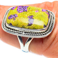 Atlantisite 925 Sterling Silver Ring Size 7.5 Ana Co Jewelry R58897F