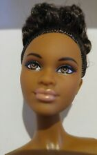 African American BARBIE THE LOOK NIGHT OUT NUDE DOLL  Fully Articulated
