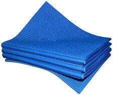 Blue Folding Portable Non-slip Yoga Mat Exercise Mat for Travel(60 x 174cm)