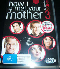 How I Met Your Mother Season 3 (Australia Region 4) DVD - Like New