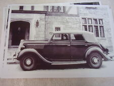 1935 FORD  CONVERTIBLE SEDAN  11 X 17  PHOTO /  PICTURE