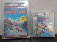 (2) VGA GRADED 95+ Super Mario Land (Nintendo) + River Raid (ColecoVision) 95+