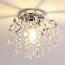 Kristall Deckenleuchte LED Deckenlampe Wohnzimmer Flurleuchte Mit Lichtquelle