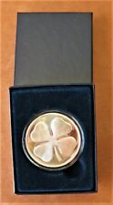 Silver Round - 'Four Leaf Clover' - with Gift Box - 1oz.999 Pure