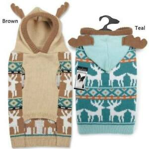 Antler Pet Dog Turtleneck Sweater Zack & Zoey Elements Apparel Hoodie Knit